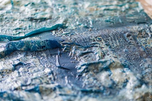 Mise en oeuvre dans l'art du Batik